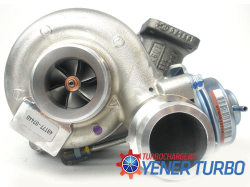 Volkswagen Crafter 2.5 TDI Turbo 49T77-07440
